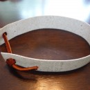 The DOMElet Wrist Band with Leather Strap