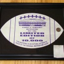 Limited Edition Framed Football Piece