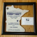 Limited Edition Minnesota Shape in Transparent 'Float'Frame