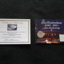 Metrodome Roof 30th Anniversary Collectible Card
