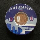 Target Field Game Used Dirt Coaster/Emblem Inaugural Edition