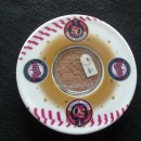Target Field Game Used Dirt Coaster/Emblem 50th Anniversary Edition