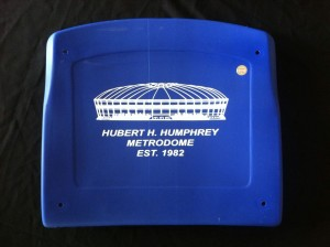 Authentic Metrodome Seat Bottom-Limited Edition Printed