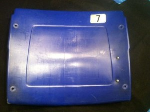 Authentic Metrodome Seat Back-Custom #1,#3,#4,#6,#7,#8,#9,#10