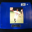 Kirby Puckett #34 Metrodome Seat Back!!