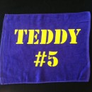 Teddy Towel: Minnesota Vikings Fan Favorite Teddy Bridgewater! Purple Rally Towel #5