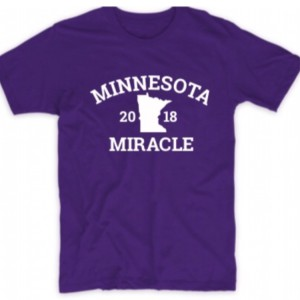 Minnesota Vikings Stefon Diggs Minnesota Inspired Minnesota Miracle Shirt